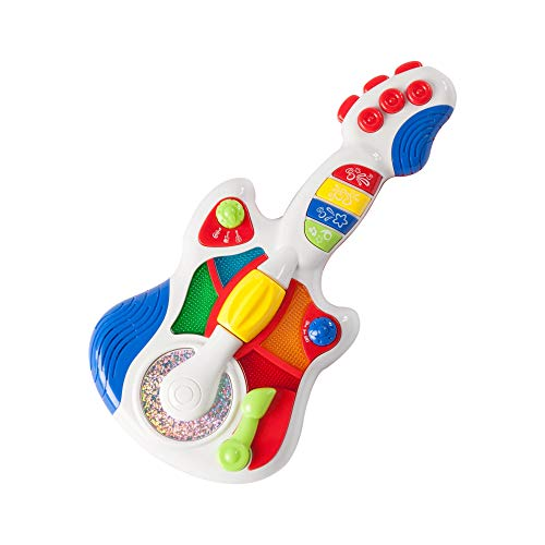 Fat Brain Toys Rockin' Light Up Guitar Baby Toys & Gifts for Babies