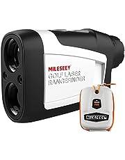 MiLESEEY Golf Range Finder met Helling Aan/Uit, 660 Yards Afstandsmeter met Vlag-Lock en Vibratie, Juridisch voor Toernooi Play, ± 0.55yard Nauwkeurigheid, 6X Vergroting, Draagtas, Gratis Batterij