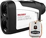 Mileseey Télémètre Golf avec Inclinaison on/Off, Telemetre Golf Laser de 660 Yards avec...