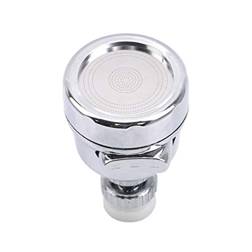 ZYYXB grifo giratorio de agua giratorio cabezal adaptador cocina grifo giratorio ahorro de agua spray a prueba de salpicaduras para baño cocina