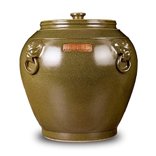 Review Food Storage Rice Storage Bucket Kitchen Storage Tank Grain Dispenser Home Decoration Tank Se...