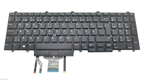 Brand New Dell Latitude E5550 SWEDISH/FINNISH QWERTY Keyboard P/N 1XN1N