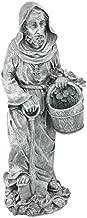 Design Toscano St. Fiacre, the Gardener's Patron Saint Statue