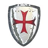 Liontouch 149LT Escudo Medieval de Juguete de Espuma de Caballero maltés para niños | Forma Parte de la línea de Disfraces para niños