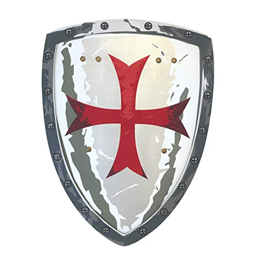 Liontouch 149LT Medieval Maltese Knight Foam Toy Shield for Kids | Part of A Kid's Costume Line