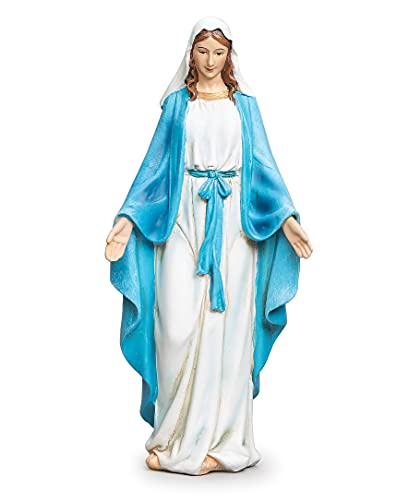 Joseph's Studio by Roman - Our Lady of Grace Figure, 6' H, Renaissance Collection, Resin and Stone Mix, Decorative, Religious Gift, Home Décor, Durable, Long Lasting