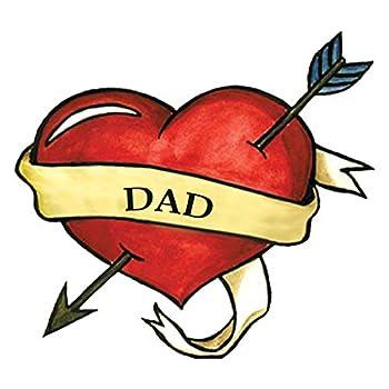 Best dad heart tattoo Reviews
