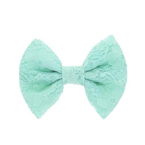 Pince à cheveux noeud pour enfants papillon (Bleu)