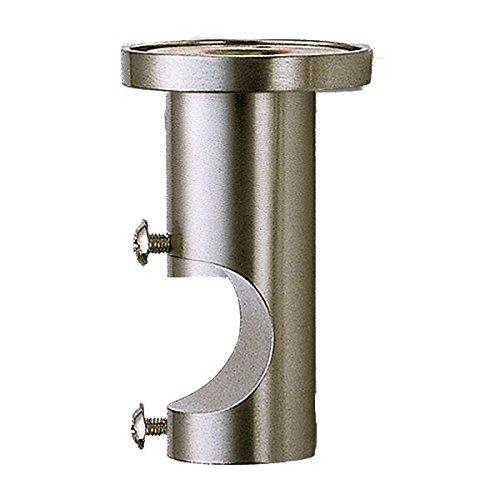 Barre de rideau/ /Support double barre plafond standard en acier inoxydable Diametro 20 mm acier inoxydable