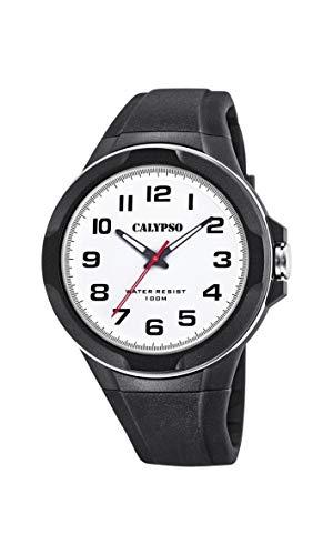Calypso Watches Reloj Analógico para Hombre de Cuarzo con Correa en Plástico K5781/1