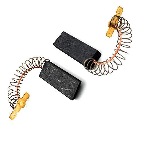 ELECTROTODO Escobillas de carbón para Motor de Lavadoras y secadoras Bosch, Siemens, Balay 00154740