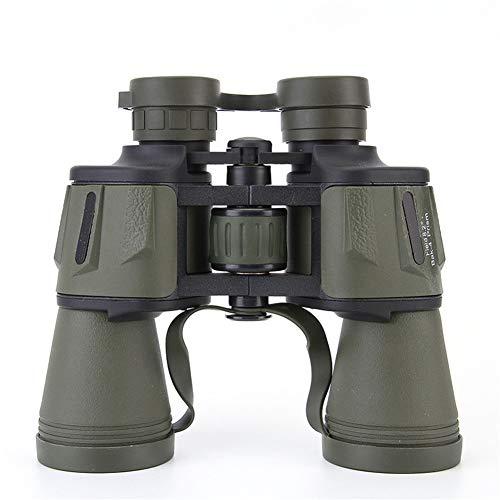 YFGRD Binoculares, 20x50 Prismáticos binoculares compactos prismáticos de la Caza con la visión Nocturna para la observación de Aves, Senderismo
