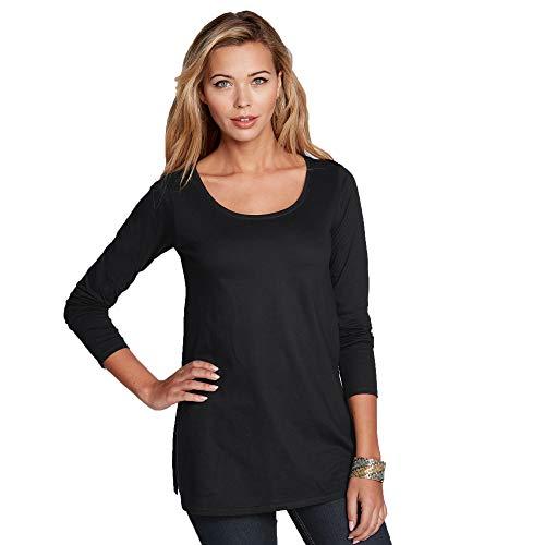 VENCA Camiseta Aberturas Laterales en el bajo Mujer - 015777