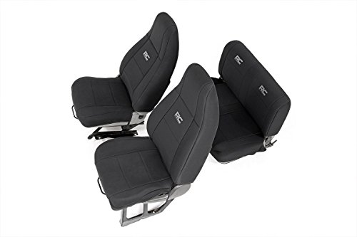 Rough Country Neoprene Seat Covers Front/Rear...