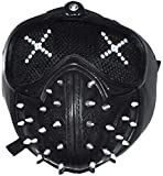 25 Emoji Changing LED Ligh Watch Dog Wrench Mask Casplay Face Mask Legion Prop Game
