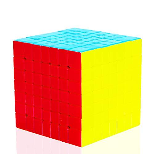 TOYESS Speed Cube 7x7 Stickerless Cubo Mágico, Paquete de Regalo de Juguete de Rompecabezas