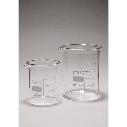 Pyrex Glass Squat Form Beaker - 1000mL