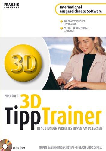 Tippen lernen in 10 Stunden, 1 CD-ROM Der interaktive Tipp-Trainer für den PC. Für Windows XP/2000/ME/98