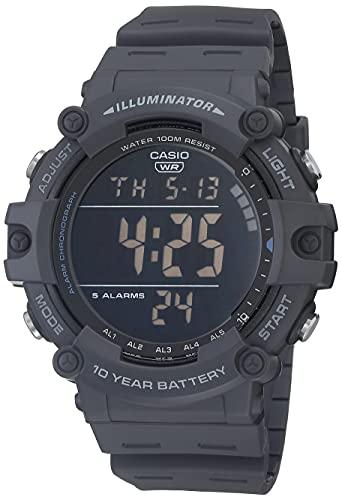 Casio Reloj casual de cuarzo para hombre, correa de resina, azul, 27.63 (modelo: AE-1500WH-8BVCF)