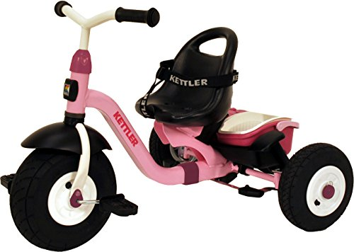 Kettler Happy Air Navigator Stella Convertible Tricycle with Push Handle...
