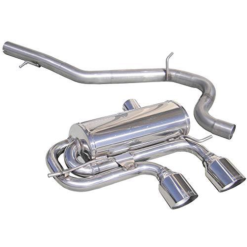 Prowler Wgo41102r 100% Inox Sport d'échappement, 2 x 102 mm