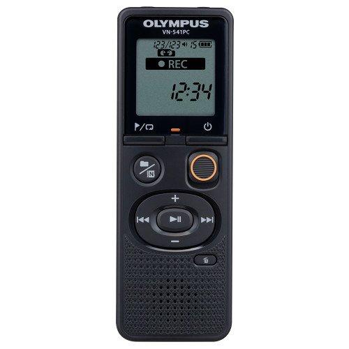 Olympus VN-541PC + ME52 - Dictáfono (60 h, Larga duración (LP), 46 h, WMA, 5-32 Kbit/s, 1570 h)