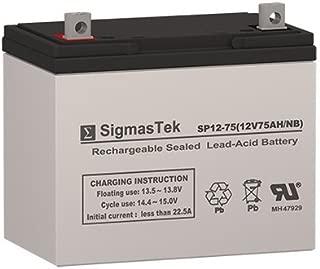 Deep Cycle Battery AGM Solar Energy Storage 12V 75AH