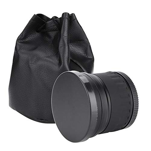 Bigking Lente Ojo de Pez, Lente Ojo de Pez Gran Angular de 58 mm 0.21X para Canon/Nikon/Sony/Minolta/Olympus/Pansonic/Pentax DSLR/SL