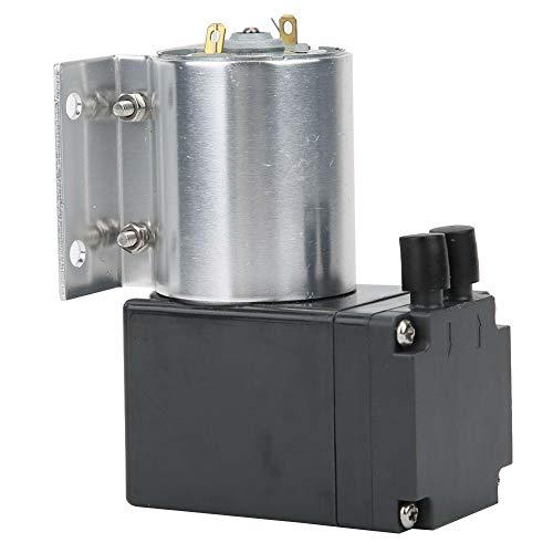 Vakuumpumpe, VN-C1 Unterdruck Vakuumsaugpumpe mit Ständer, Mini Vakuumpumpe Saugpumpe, 80kpa 10W 15L/Min (DC12V)