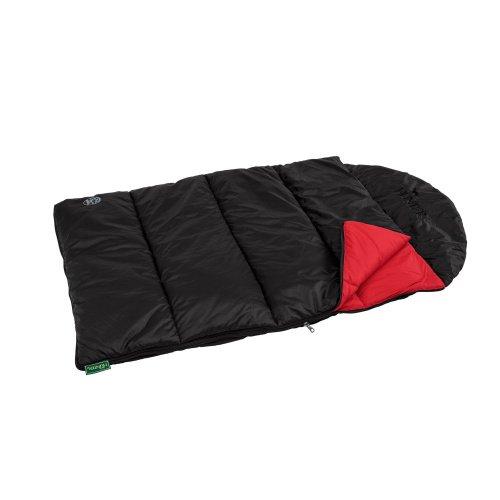 HONTER hondendeken en slaapzak Kalix 120x75 cm, zwart/rood