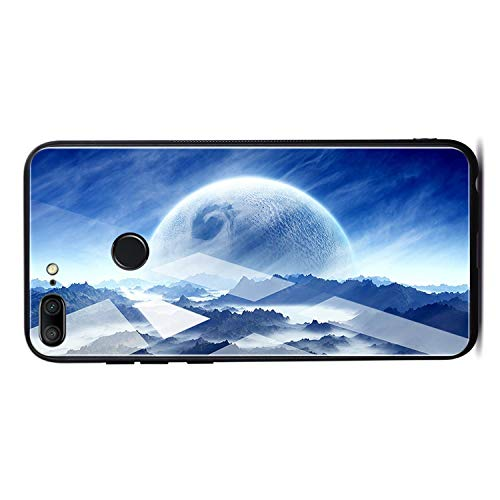 Space Case for honer P20 Lite Pro for Mate 10 Lite Cases Cover P Smart Glass Coque Phone Case on for honer for Honor 9 Lite 10,Pattern 12,for Honor 9 Lite
