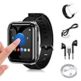 32G Reproductor MP3 Bluetooth 5.0 JBHOO MP3 Running con Correa de Reloj, FM Radio, Podómetro...