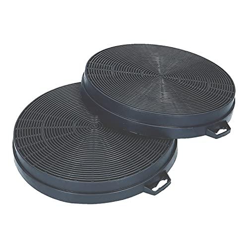 2 Kohlefilter Aktivkohlefilter Dunstabzughaube für Bauknecht Whirlpool 481281728343 484000008579 CHF210/1 210/200 mm B210