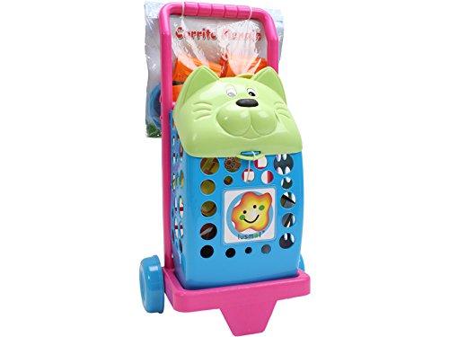 IMITOYS Carrito Compra Gato con Accesorios 50X23CM Vicam Toys 33