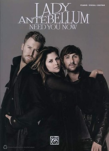 Need You Now: Piano / Vocal / Guitar