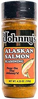 Johnny's Alaskan Salmon Seasoning, 4.25 oz.