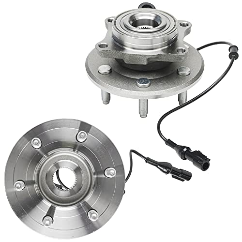 Detroit Axle - Rear Wheel Hub Bearing Assembly Replacement for 2003-06 Ford...