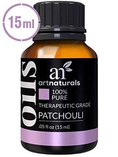 ArtNaturals 100% Pure Patchouli Essential Oil - (.5 Fl Oz / 15ml) - Undilued Therapeutic Grade Fragrance Oil - Soothe Balance and Comfort - for Diffuser, Skin, Body and Perfume