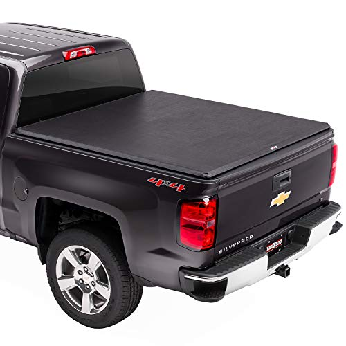 TruXedo TruXport Soft Roll Up Truck Bed Tonneau Cover | 272001 | Fits 2014 - 2018, 2019 Limited/Legacy Chevy/GMC Silverado/Sierra 1500, 2015-19 2500/3500HD 6' 7' Bed (78.9')