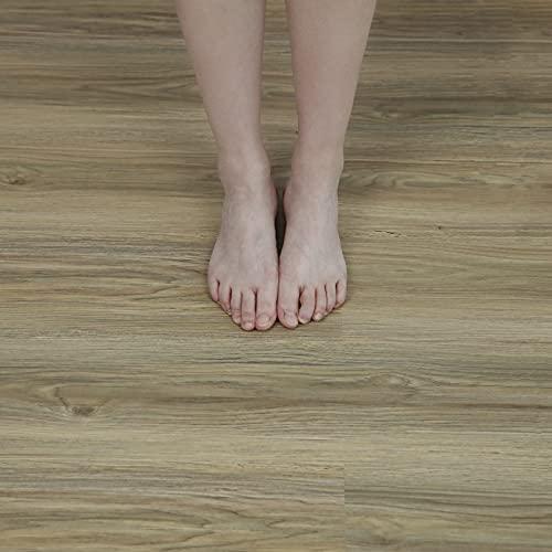 15X90cm 10pcs Wood Self Adhesive Floor Tiles Vinyl Flooring Peel and Stick...
