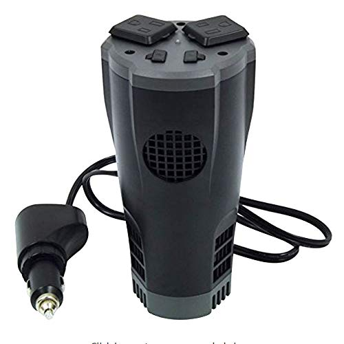 PowerDrive PD200CUP 200 Watt Cup Inverter with Dual USB Ports, 1 Pack