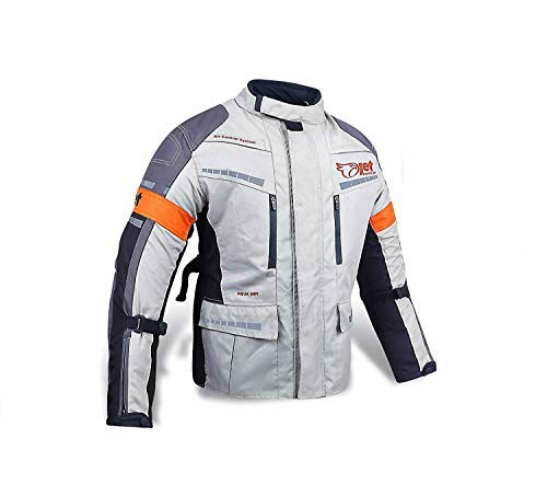Medium 38-40 JET Motorcycle Motorbike Jacket Protective Textile Armoured Waterproof MERICANA