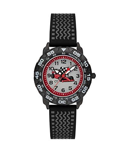 Cool Time Jungen Kinder Armbanduhr (schwarz)