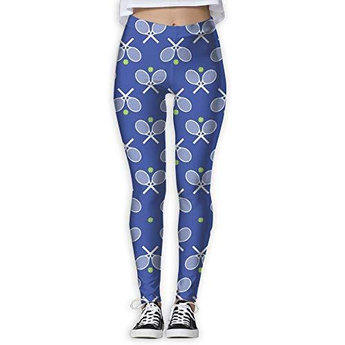 YBRB Raquetas de tenis azules Pantalones de yoga flacos para