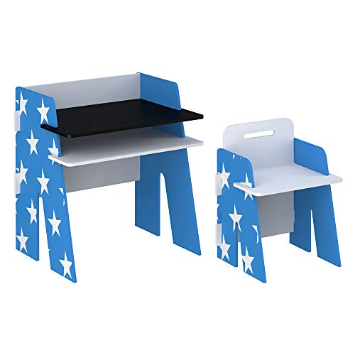 Kidsaw Star Desk & Chair - Blue