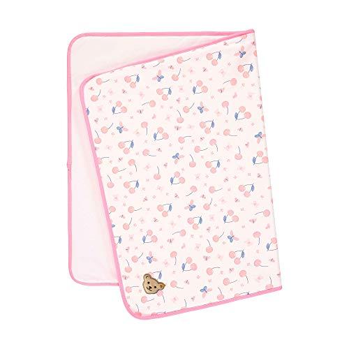 Steiff Mädchen Decke Jersey Halstuch, Rosa (Barely Pink 2560), (Herstellergröße: 999)