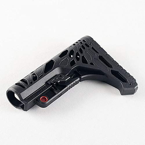 Python Gun Stock AR 15 Buttstock Adjustable Rife Mil Refitting Parts