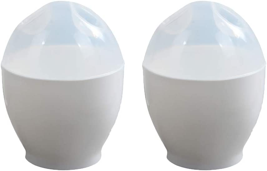 BESTONZON 2 Pcs Egg Cooker Bowl Creative Microw Fort Worth Mall San Francisco Mall Mold Steamed