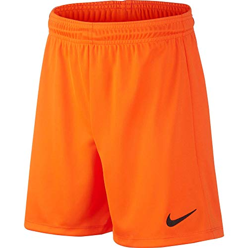 Nike Park II Knit Short NB, Pantaloncini Corti Bambino, Arancione (Safety Orange / Black), XL