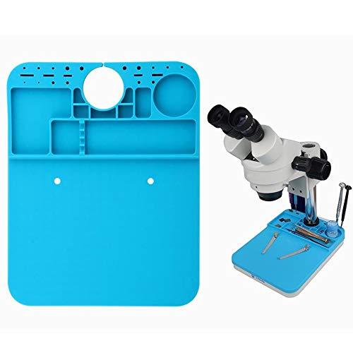 CZF What Isolation Silikon Pad Microscope Tischmatte Wartungsplattform for das Mikroskop BGA Lötwerkzeugwerkzeug Werkzeugmaschine